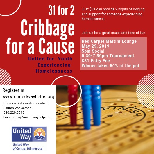 Cribbage for a Cause